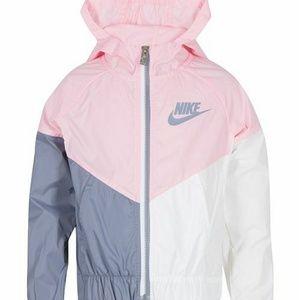 EUC Nike Toddler Girl Windbreaker Jacket